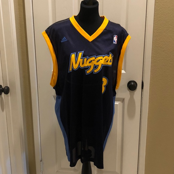 more photos d5d43 ffd75 Vintage Denver Nuggets Iverson jersey in EUC